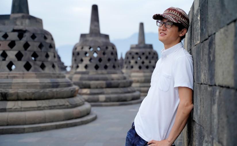 インドネシア、ボロブドゥールの旅