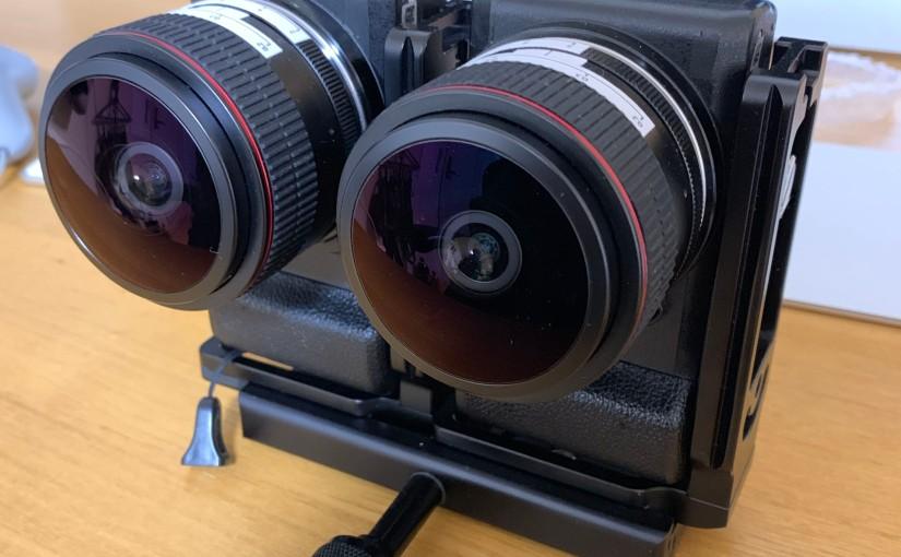 VR180カメラを作る